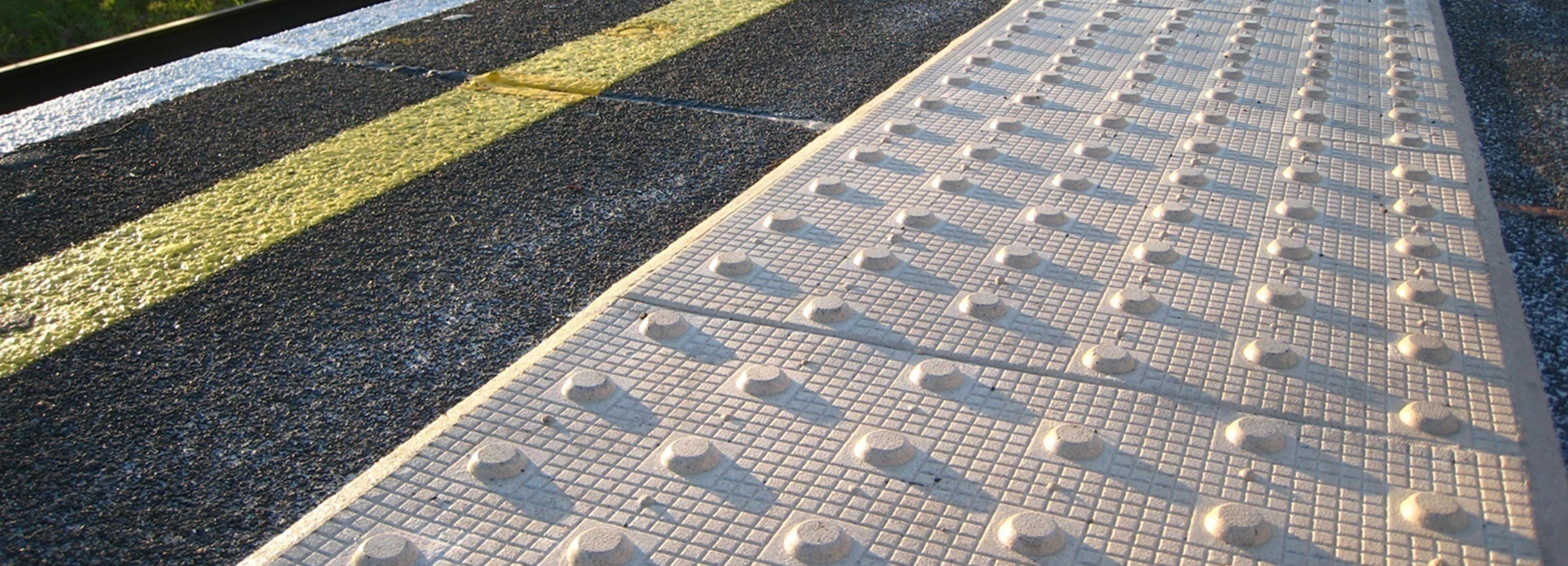 Tactile Paving Slabs For The Visually Impaired Visul